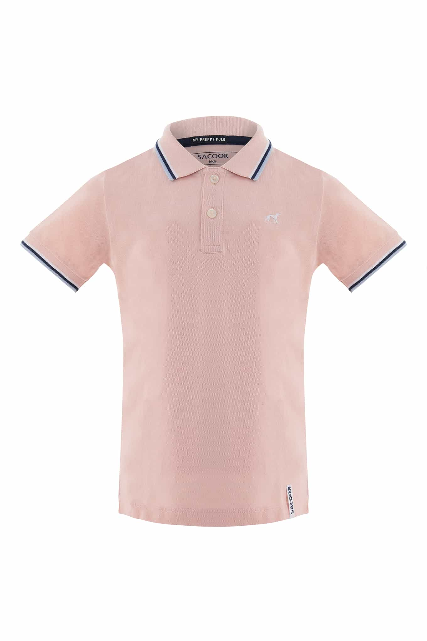 Polo Piquet Light Pink Sport Boy