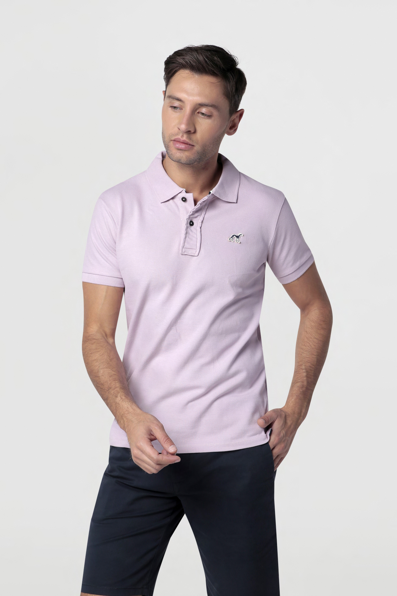 Polo Piquet Lilac Sport Man