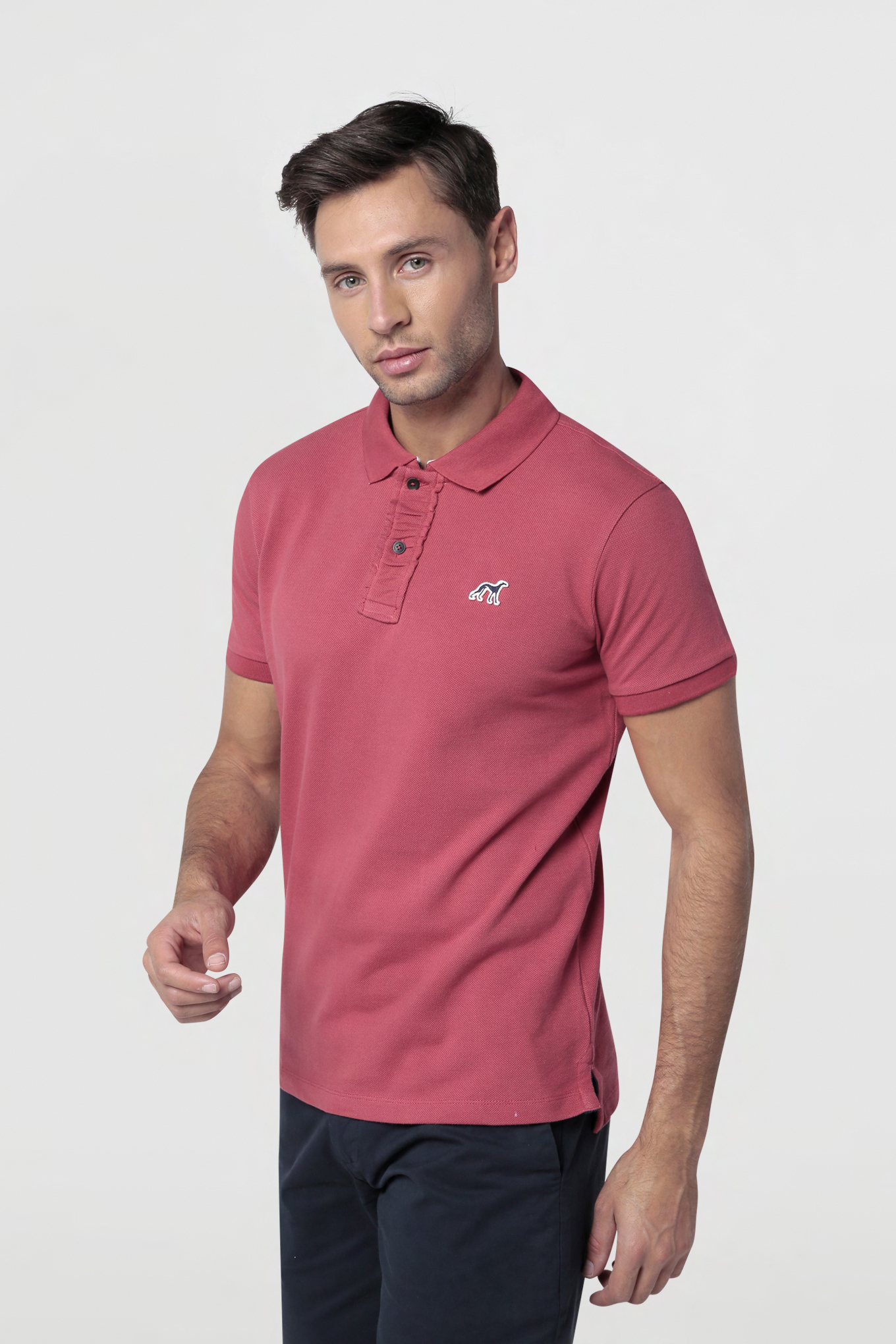 Polo Piquet Light Red Sport Man