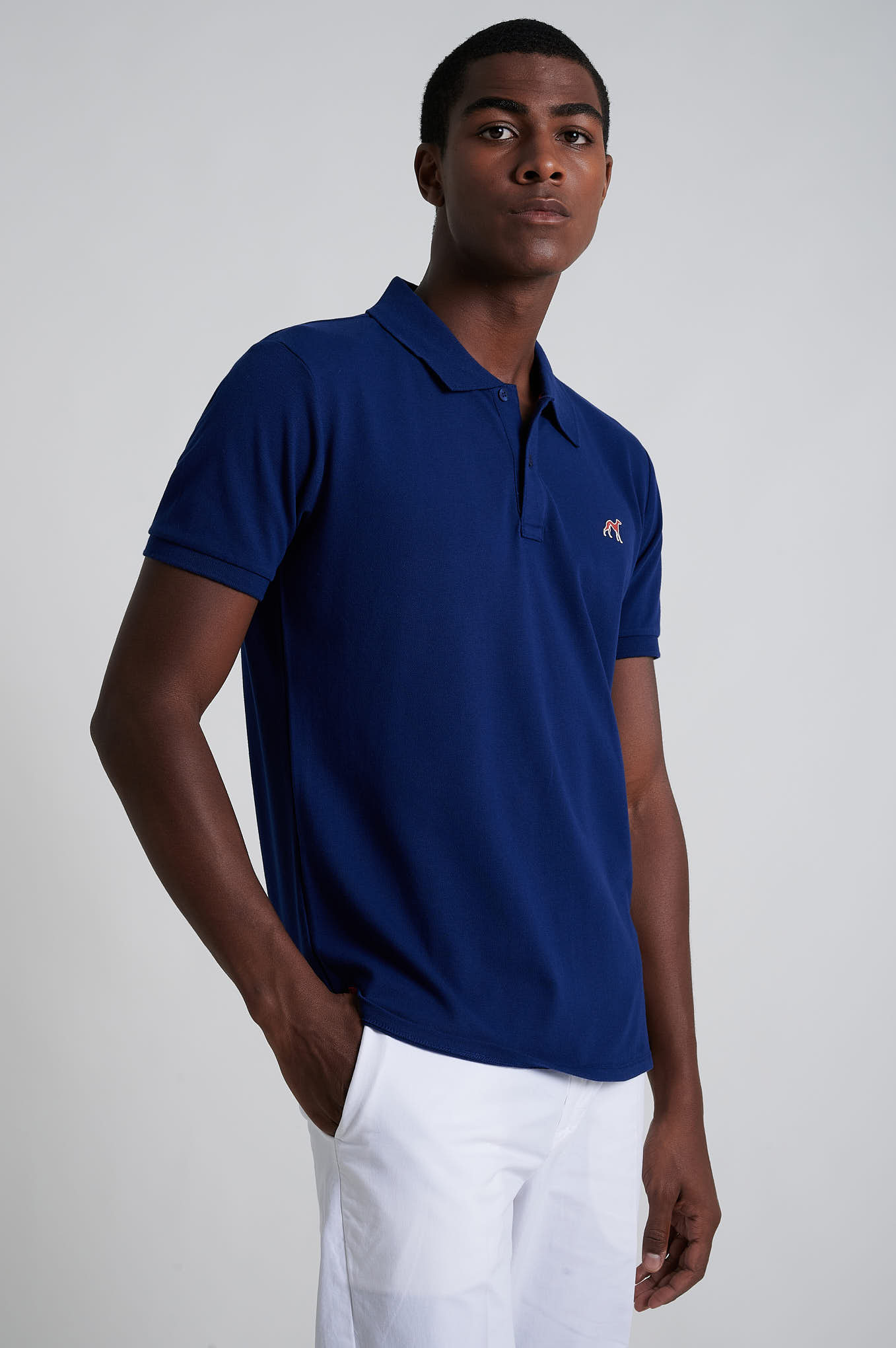 Polo Piquet Royal Blue Sport Man