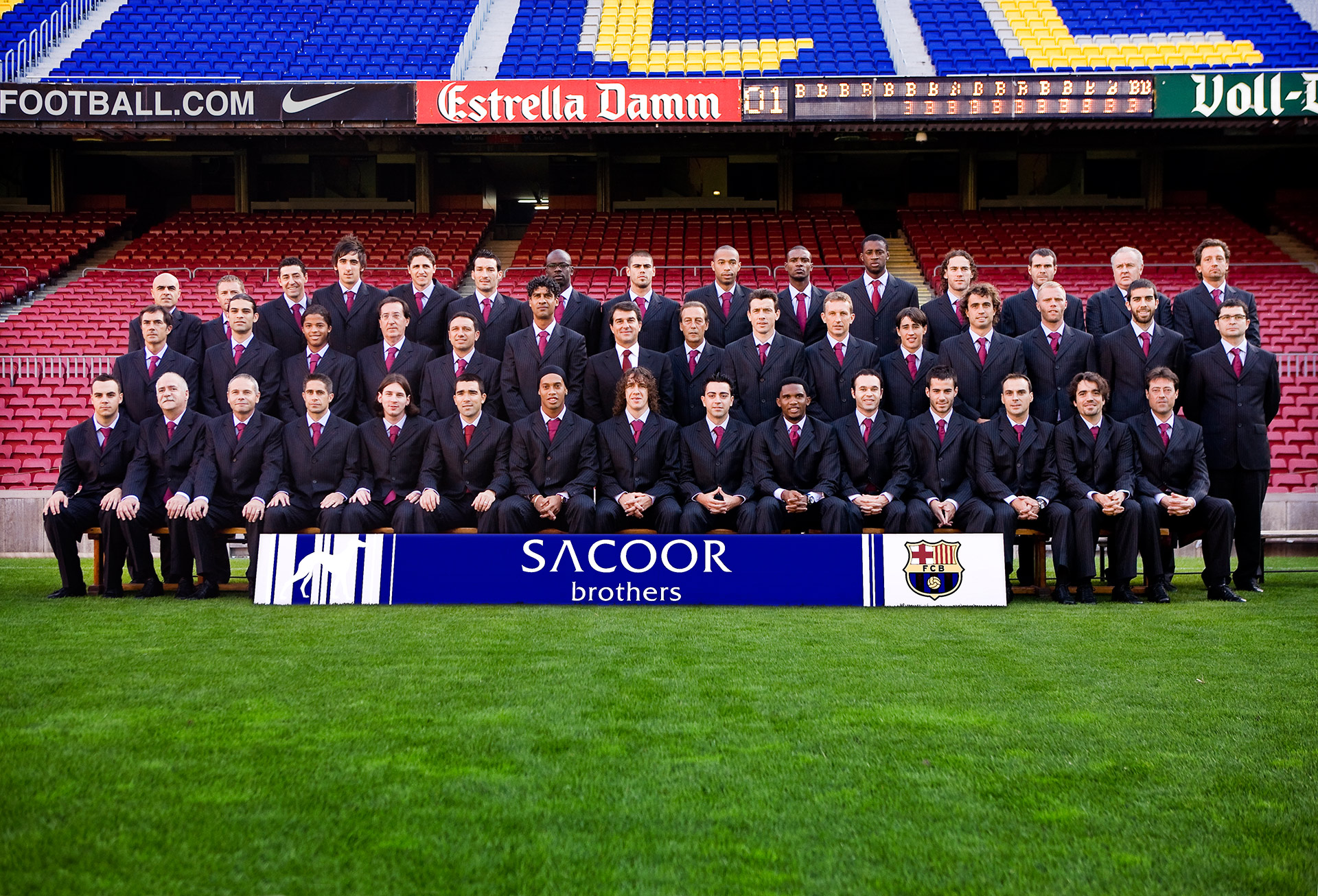 Sacoor Brothers Sponsors football teams and celebrities